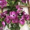 گل-مصنوعی-بوته-گلدار-گیاهان-پخش-مستقیم-مجموعه-پارادایس-کیفت بالا -رنگ بنفش
