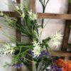 گل-مصنوعی-بوته-گلدار-گیاهان-پخش-مستقیم-مجموعه-پارادایس-کیفت بالا -رنگ سفید