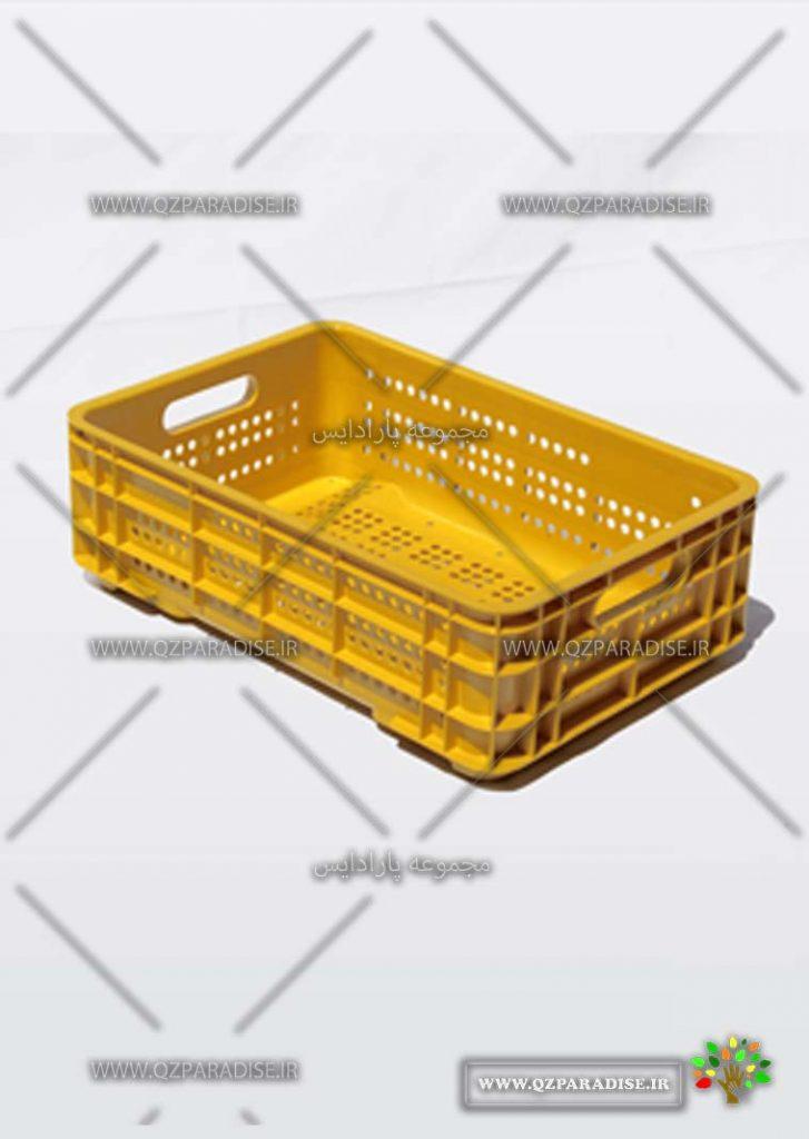 سبد پلاستیکی کد 1125جدید تولید کننده جعبه پلاستیکی شایان اعتماد