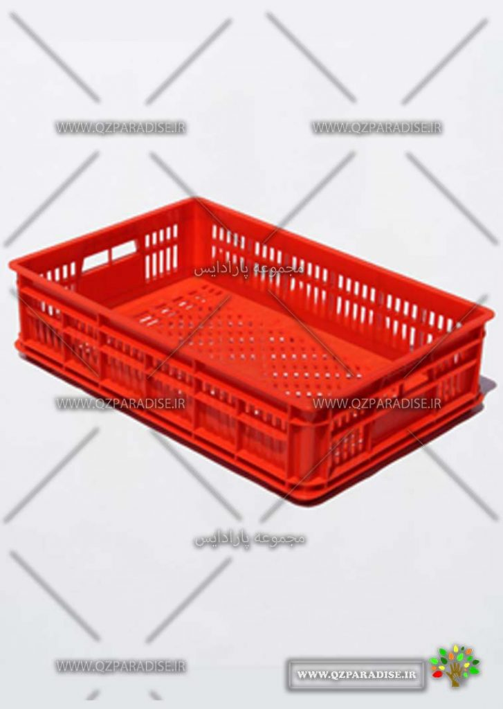 سبد پلاستیکی کد 1135 تولید کننده جعبه پلاستیکی شایان اعتماد