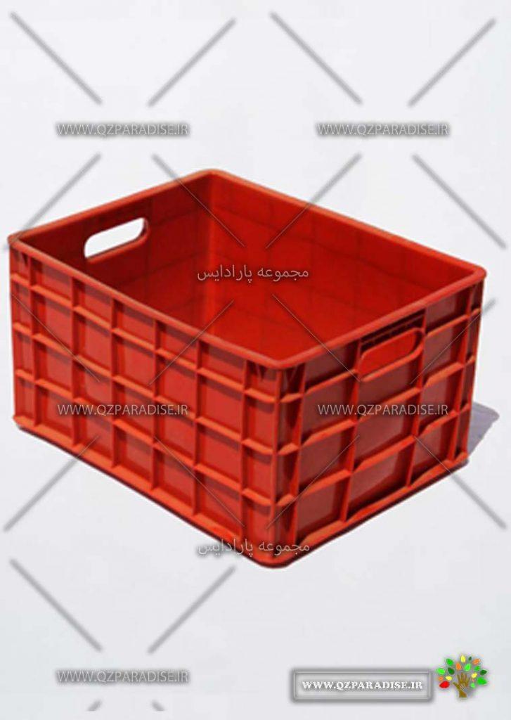 سبد پلاستیکی کد 1136 تولید کننده جعبه پلاستیکی شایان اعتماد
