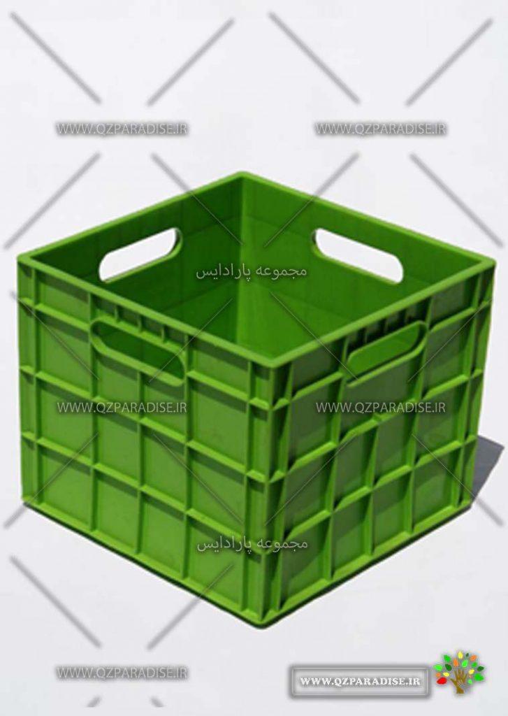 سبد پلاستیکی کد 1137 تولید کننده جعبه پلاستیکی شایان اعتماد