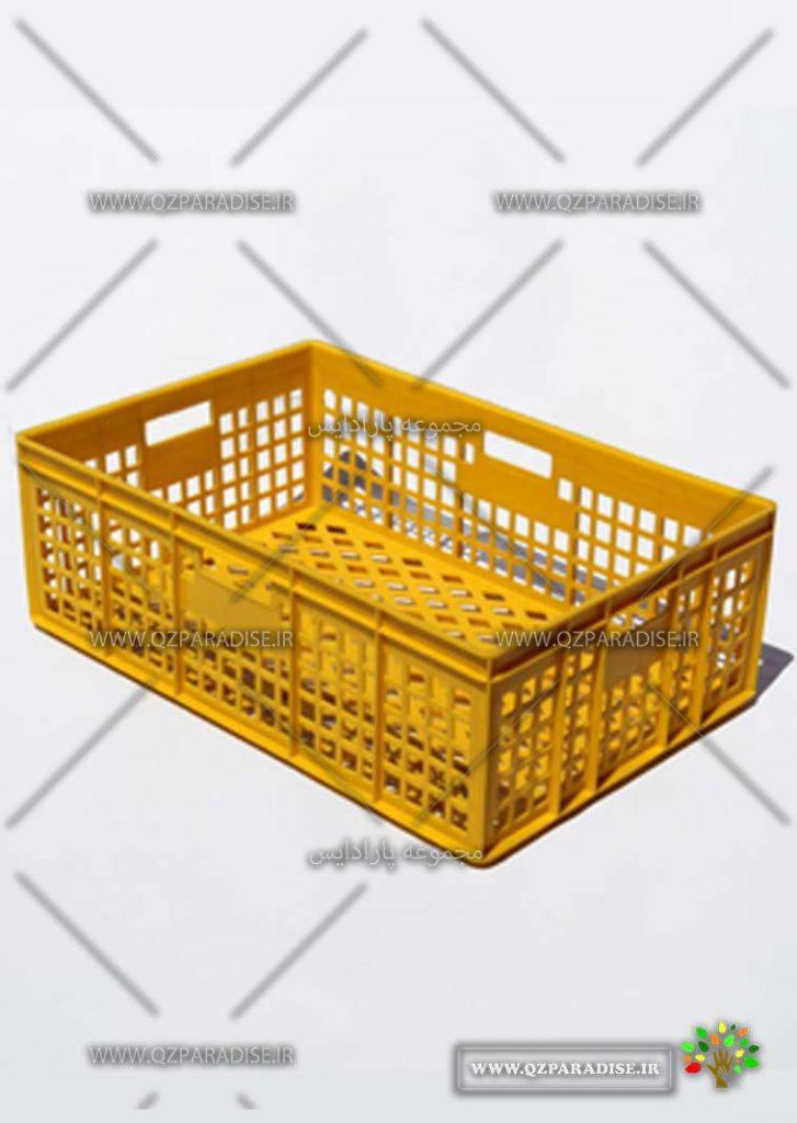 سبد پلاستیکی کد 1139 تولید کننده جعبه پلاستیکی شایان اعتماد