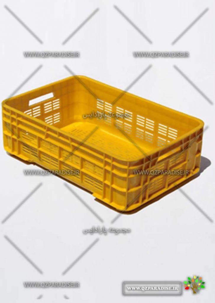 سبد پلاستیکی کد 1125قدیم تولید کننده جعبه پلاستیکی شایان اعتماد