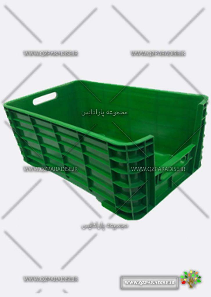 سبد پلاستیکی کد 1155تولید کننده جعبه پلاستیکی شایان اعتماد