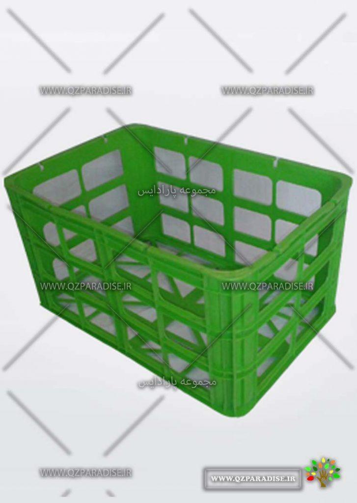 سبد پلاستیکی کد 1161تولید کننده جعبه پلاستیکی شایان اعتماد