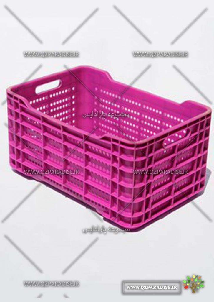 سبد پلاستیکی کد 1130 جدید تولید کننده جعبه پلاستیکی شایان اعتماد