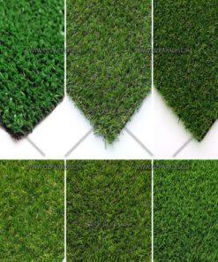 چمن مصنوعی در تنوع فراوان به صورت کلی و جزئی