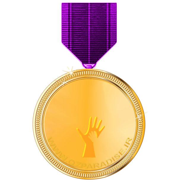 مدال طلا رده سه یک زنجیره تامین بهشت با بدست آوردن امتیاز