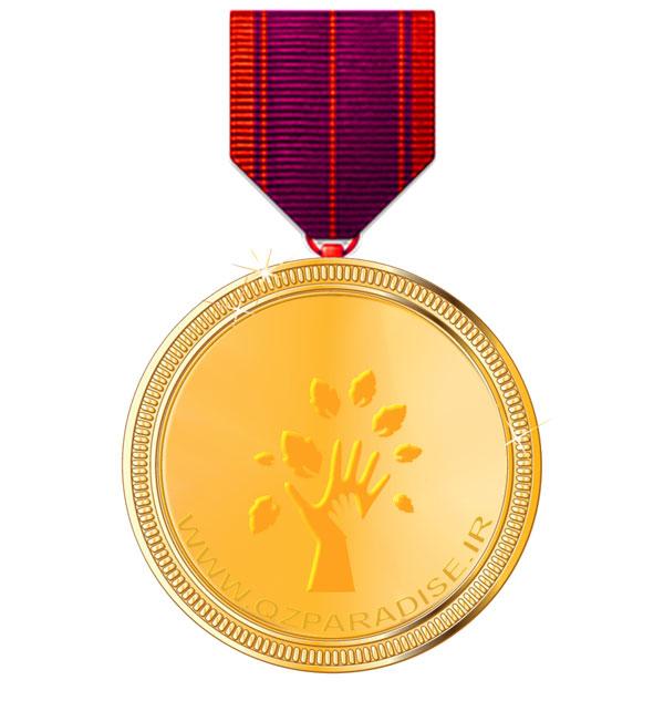 مدال طلا رده چهار یک زنجیره تامین بهشت با بدست آوردن امتیاز