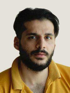 امیرحسین حیدری فیلم نامه نویس و کارگردان
